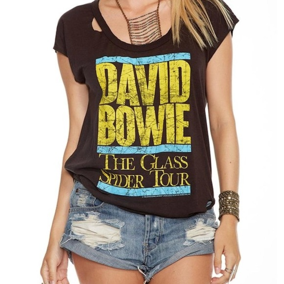 cc937ceaa4 Chaser Tops - NWOT Chaser David Bowie T-shirt size Large